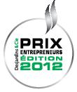 Prix Entrepreneurs Desjardins 2012